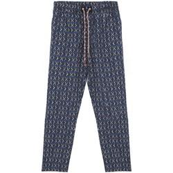 Abbigliamento Uomo Pigiami / camicie da notte Madson Pantalone Stampato Blu  MDSDU20038 P10 Blu