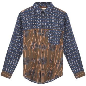 Abbigliamento Uomo Camicie maniche lunghe Madson Camicia Stampata Doppia Multi  MDSDU20048 C2 Multicolore