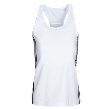 Abbigliamento Donna Top / T-shirt senza maniche adidas Performance W D2M 3S TANK Bianco
