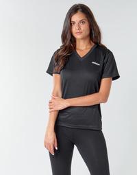 Abbigliamento Donna T-shirt maniche corte adidas Performance W D2M SOLID T Nero