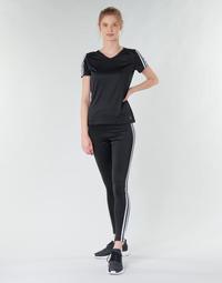 Abbigliamento Donna Leggings adidas Performance W D2M 3S HR LT Nero
