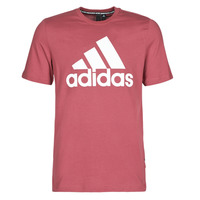 Abbigliamento Uomo T-shirt maniche corte adidas Performance MH BOS Tee Rosso / Eredità
