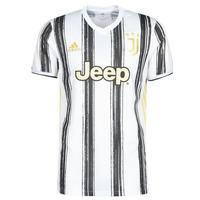 Abbigliamento T-shirt maniche corte adidas Performance JUVE H JSY Bianco / Nero