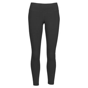 Abbigliamento Donna Leggings Reebok Classic TE LINEAR LOGO CT L Nero