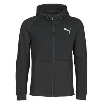 Abbigliamento Uomo Giacche sportive Puma EVOSTRIPE FZ HOODY Nero