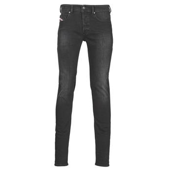 Abbigliamento Uomo Jeans skynny Diesel SLEENKER Grigio / Scuro
