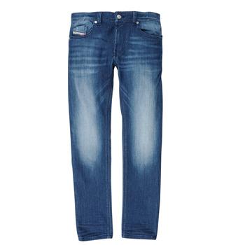 Abbigliamento Bambino Jeans slim Diesel THOMMER Blu