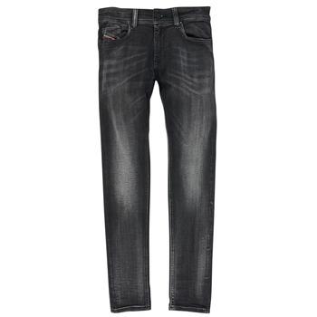 Abbigliamento Bambino Jeans skynny Diesel SLEENKER Nero