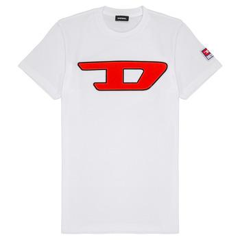Abbigliamento Unisex bambino T-shirt maniche corte Diesel TJUSTDIVISION Bianco