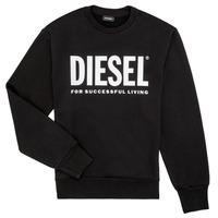 Abbigliamento Bambino Felpe Diesel SCREWDIVISION LOGO Nero