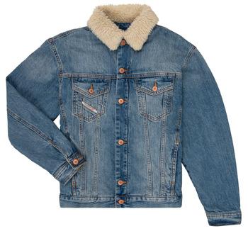 Abbigliamento Bambino Giacche in jeans Diesel JRESKY Blu