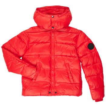 Abbigliamento Bambino Piumini Diesel JSMITHYAWH Rosso