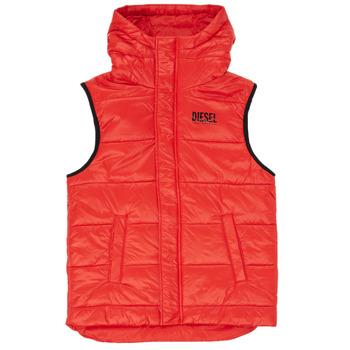 Abbigliamento Bambino Piumini Diesel JSUNNY Rosso