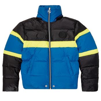 Abbigliamento Bambino Piumini Diesel JMARTOS Nero / Blu / Giallo