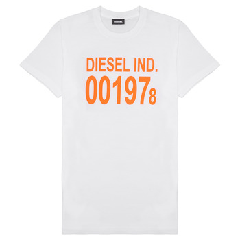 Abbigliamento Unisex bambino T-shirt maniche corte Diesel TDIEGO1978 Bianco