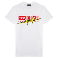 Abbigliamento Bambino T-shirt maniche corte Diesel TDIEGOBX2 Bianco
