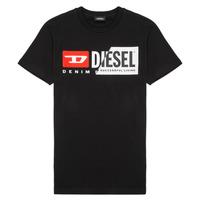 Abbigliamento Unisex bambino T-shirt maniche corte Diesel TDIEGOCUTY Nero