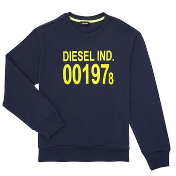 Abbigliamento Unisex bambino Felpe Diesel SGIRKJ3 Blu