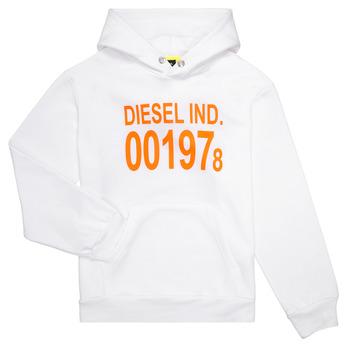 Abbigliamento Unisex bambino Felpe Diesel SGIRKHOOD Bianco