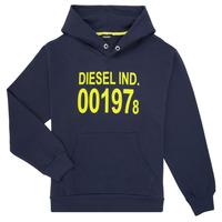 Abbigliamento Unisex bambino Felpe Diesel SGIRKHOOD Blu