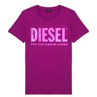 Abbigliamento Bambina T-shirt maniche corte Diesel TSILYWX Rosa