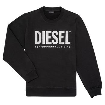 Abbigliamento Bambina Felpe Diesel SANGWX Nero