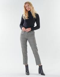 Abbigliamento Donna Pantaloni 5 tasche Freeman T.Porter SHELBY MERCURY Grigio