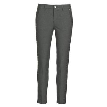 Abbigliamento Donna Pantaloni 5 tasche Freeman T.Porter CLAUDIA POLYNEO Grigio