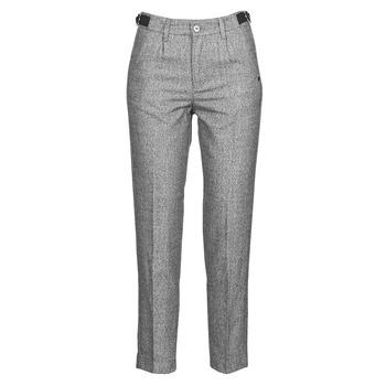 Abbigliamento Donna Pantaloni 5 tasche Freeman T.Porter SHELBY MOKKA Grigio / Clair