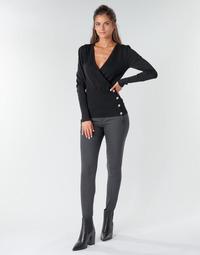Abbigliamento Donna Pantaloni 5 tasche Freeman T.Porter TESSA COLISH Grigio