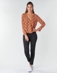 Abbigliamento Donna Pantaloni 5 tasche Freeman T.Porter ALEXA CROPPED S-SDM Nero