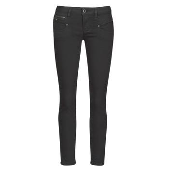 Abbigliamento Donna Jeans slim Freeman T.Porter ALEXA CROPPED S-SDM Nero