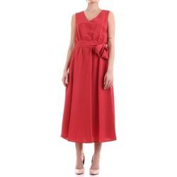 Abbigliamento Donna Abiti lunghi Fly Girl 9890-02 Rosso