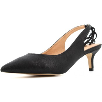 Scarpe Donna Décolleté Gold&gold scarpe donna decolletè GE70 NERO Nero