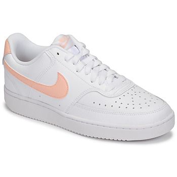 Scarpe Donna Sneakers basse Nike COURT VISION LOW Bianco / Rosa