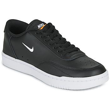 Scarpe Donna Sneakers basse Nike COURT VINTAGE Nero / Bianco