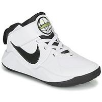 Scarpe Bambino Pallacanestro Nike TEAM HUSTLE D 9 PS Bianco / Nero
