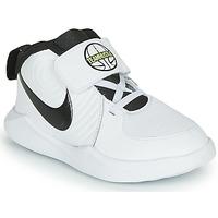 Scarpe Bambino Pallacanestro Nike TEAM HUSTLE D 9 TD Bianco / Nero