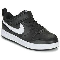 Scarpe Unisex bambino Sneakers basse Nike COURT BOROUGH LOW 2 PS Nero / Bianco