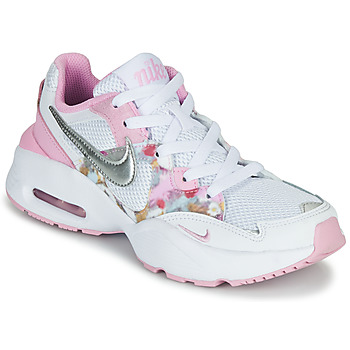 Scarpe Bambina Sneakers basse Nike AIR MAX FUSION SE GS Bianco / Rosa