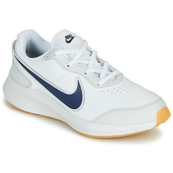 Scarpe Bambino Sneakers basse Nike VARSITY LEATHER GS Bianco / Blu