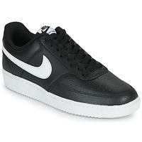 Scarpe Uomo Sneakers basse Nike COURT VISION LOW Nero / Bianco