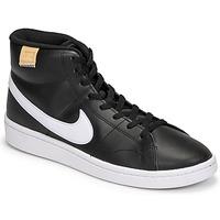 Scarpe Uomo Sneakers alte Nike COURT ROYALE 2 MID Nero / Bianco