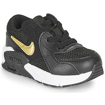 Scarpe Unisex bambino Sneakers basse Nike AIR MAX EXCEE TD Nero / Oro