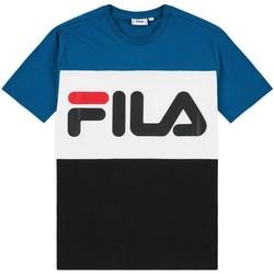 Abbigliamento Uomo T-shirt maniche corte Fila Tshirt  DAY TEE Uomo blu bianco Blu