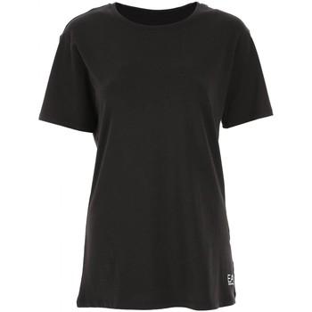 Abbigliamento Donna T-shirt maniche corte Emporio Armani EA7 T-shirt  6GTT16 TJ12Z Donna Nero Nero