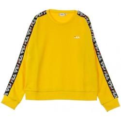 Abbigliamento Donna Polo maniche lunghe Fila felpa Donna WOMEN TIVKA crew sweat 682326 giallo Giallo
