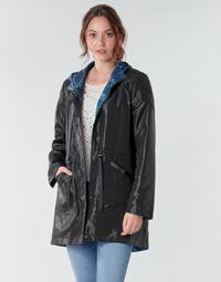 Abbigliamento Donna Parka One Step FR42001 Nero