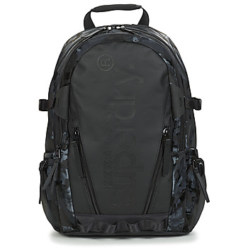 Borse Zaini Superdry HARBOUR TARP BACKPACK Nero
