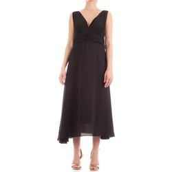 Abbigliamento Donna Abiti lunghi Fly Girl 9845-01 Nero